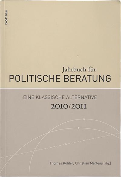 JAHRBUCH FÜR POLITISCHE BERATUNG